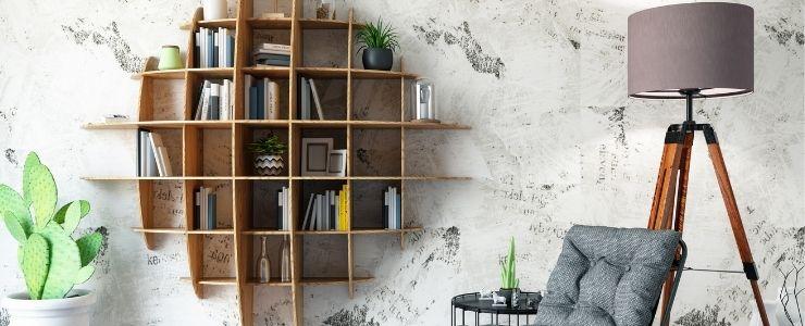 Custom Bookshelf Design