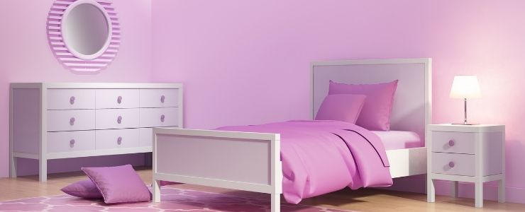 10 Year Old Girl's Bedroom