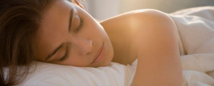 Woman Sleeping after Taking Cymbalta.