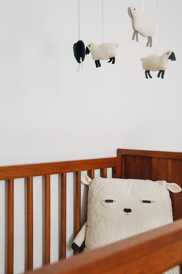 Boy's Small Bedroom With Ceiling Decorations