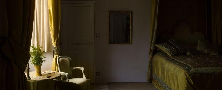Dark Academia Bedroom Curtains